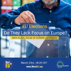 EU Elections - Do they Lack Focus on Europe 2